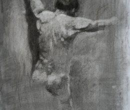 Hátakt szén,papír 2006