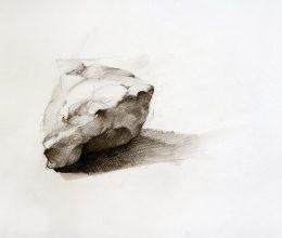 Kövek II. ceruza, papír 2009.