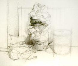 Szombathely ceruza, papír A4 2009.