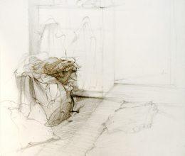 Túrkeve ceruza, papír 2009.