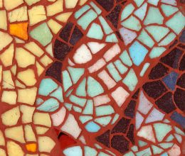 Fej I. mozaik 25x20 cm 2005.