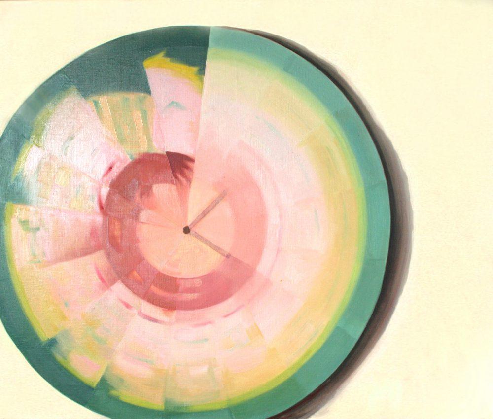 Pörgettyű I. 100x120 cm olaj, vászon 2004.