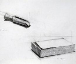 Kanál, notesz ceruza, papír 2015.