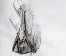 Fogas ceruza, papír 2010.