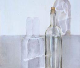 Üveg akvarell, papír 32x44 cm 2011.