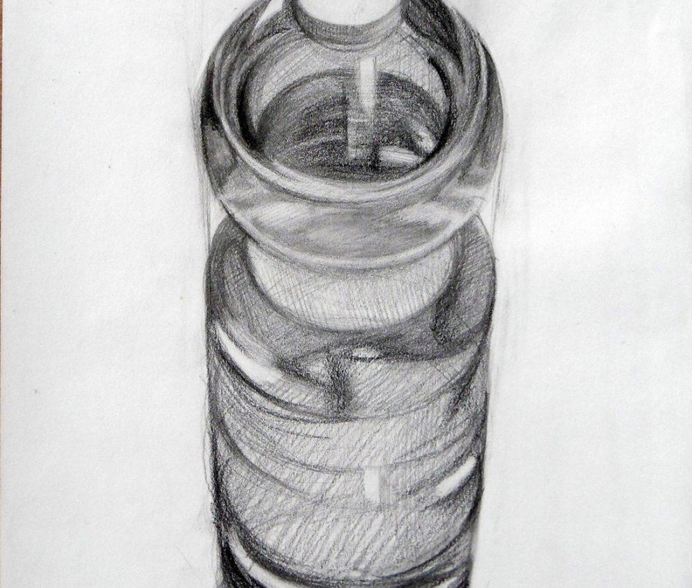 Vizespalack ceruza, papír 2011.