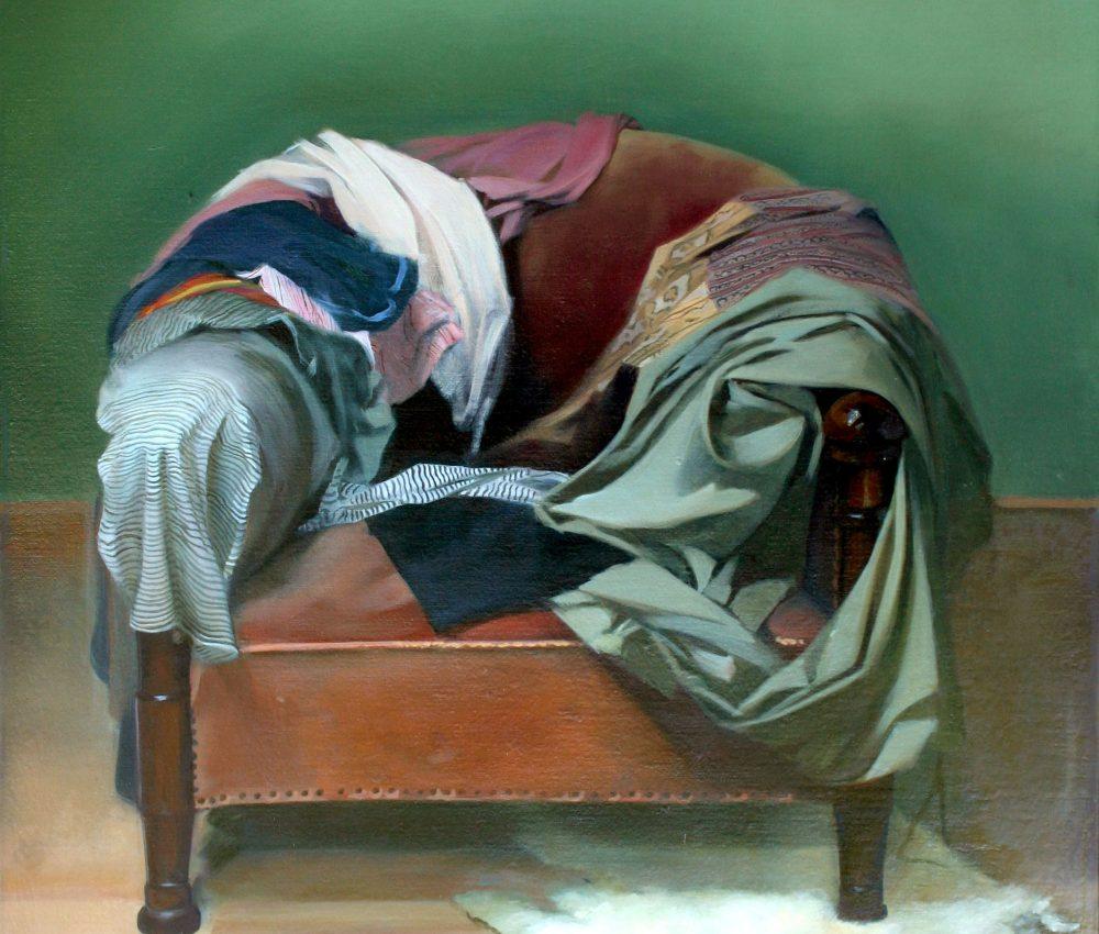 Fotel olaj,vászon 100x80cm 2007