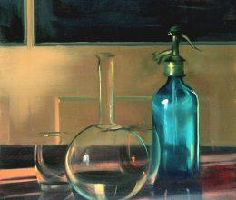 Szódásüveg olaj, vászon 60x40cm 2006.