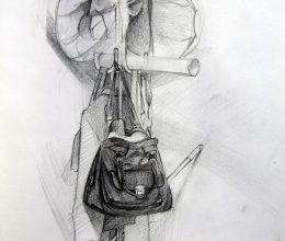 Fogas ceruza, papír 2011.