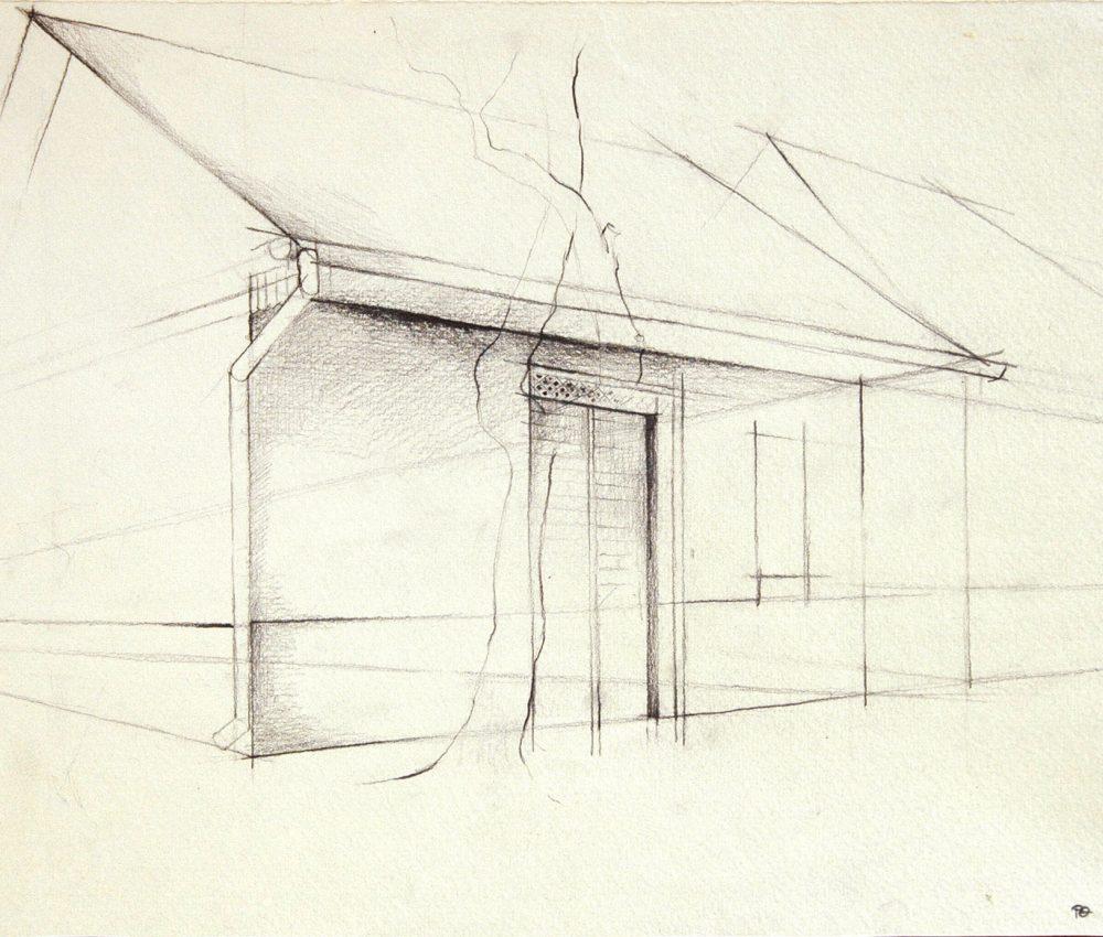 Tanulmány,ceruza,papír 2004