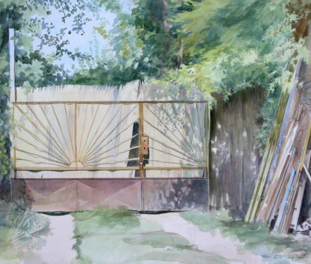 Kapu akvarell, papír 43x66 cm 2018.